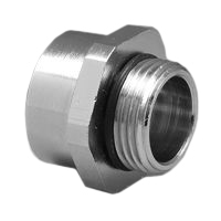 01614 M20 Threaded Adapter with O-Ring Gasket. Converts M20 Thread to 1/2 Inch NPT