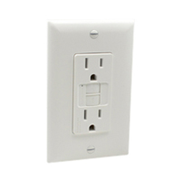 1597-W United States, North America 5-15 GFCI outlet