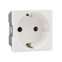 16 Amp 250V 70100x45 European Schuko Outlet Receptacle