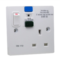 72300-S-10MA United Kingdom GFCI 10Ma Trip Flush or Surface Mount