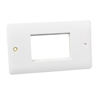 Wall Plate / Mounting Frame. Opening Size 67.5x45mm.