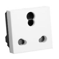 16A-240V & 5A-240V 73105x45 S. Africa, India and UK Multi-Outlet Receptacle