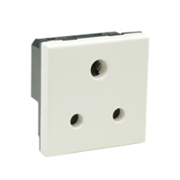 5 Amp 250V 73310x45 S. Africa, India and UK Outlet Receptacle