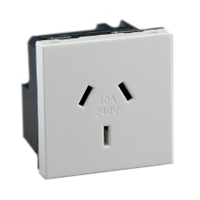 10 Amp 250V 74105X45 Australia & New Zealand Outlet Receptacle