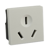 16 Amp 250V 74600x45 China Outlet Receptacle GB1002/GB2099