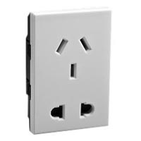 74705X45 Chinese and European Duplex Outlet