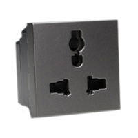 13A-250V & 15A-127V 74900x45 International Multi-Configuration Outlet Receptacle