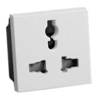 13A-250V & 15A-127V 74900x45-W International Multi-Configuration Outlet Receptacle