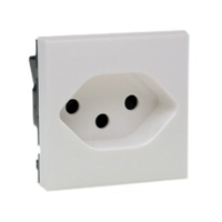 10 Amp 250V 76101x45 Switzerland Outlet Receptacle SEV 1011 Type 13 Damp Locations