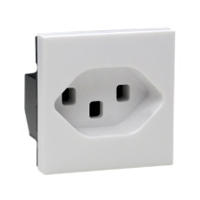 16 Amp 250V 76105x45 Switzerland Outlet Receptacle SEV 1011 Type 23