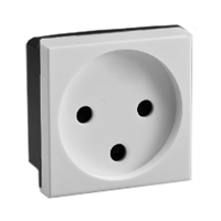 16 Amp 250V 77100x45 Israel Shuttered Outlet Receptacle SI 32