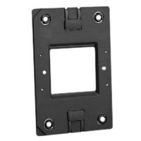 79120X45-N Mounting Frame. Fits on USA 2x4 Boxes. Accepts 22.5x45mm & 45x45mm Devices.