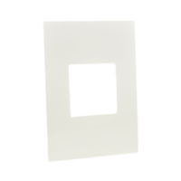 79130X45-N Finish Plate. White. Fits 79120X45-N Mounting Frame. Opening Size 45x45mm.