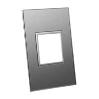 79135X45-N 45X45 Brushed Stainless Steel Finish Plat