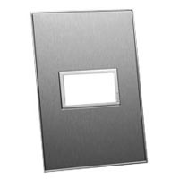 79145X45-N 45X22.5 Brushed Stainless Steel Finish Plate