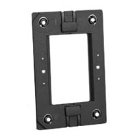 79170X45-N Mounting Frame. Fits on USA 2x4 Boxes. Accepts 22.5mm, 45mm & 67.5mmx45mm Devices.