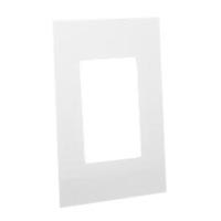 79180X45-N Finish Plate. White. Fits 79170X45-N Mounting Frame. Opening Size 67.5x45mm.