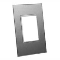 79185X45-N Finish Plate. Stainless Steel. Fits 79170X45-N Mounting Frame. Opening Size 67.5x45mm.