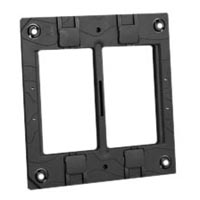 79275X45-N Mounting Frame. Fits on USA 4x4 Boxes. Accepts 22.5mm, 45mm & 67.5mmx45mm Devices.