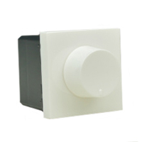 79550x45 Dimmer Switch 40-400 Watt 100-240V 50/60Hz. Incandescent & Halogen Lamps.
