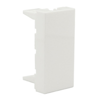 79590x45 Blanking Plate Filler Size 22.5x45mm White