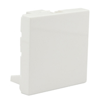 79591X45 Blanking Plate Filler Size 45x45mm White